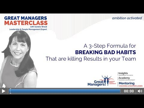 Breaking Bad Habits That are Killing Results for your Team