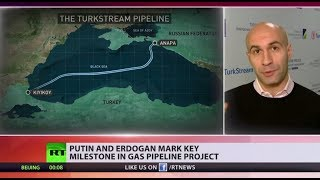 Russia & Turkey officially complete construction of joint gas pipeline