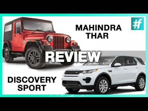 Mahindra Thar & Discovery Sport Review | TOYZ with Ankit And Bharat