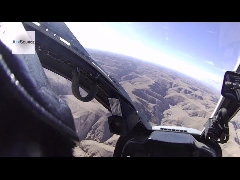 Awesome Cockpit View: AH-1W SuperCobra Helicopter