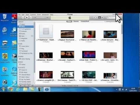 how to sync video, music and photo to iphone 4