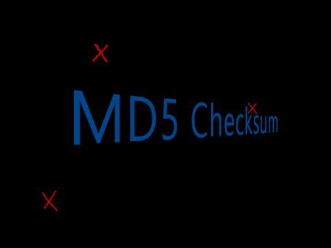 md5 checksum  ¿Qué es y para que sirve?  (Castellano)