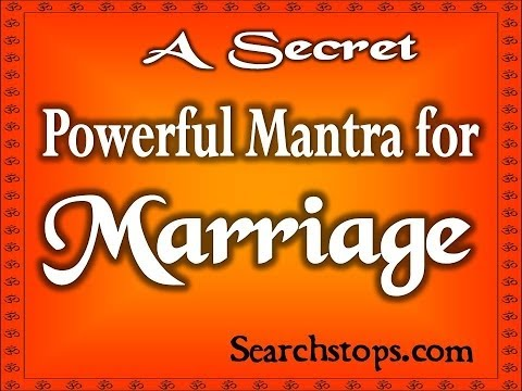 Early marriage mantra -Very Powerful effective shabar mantra for quick marriage  getting married