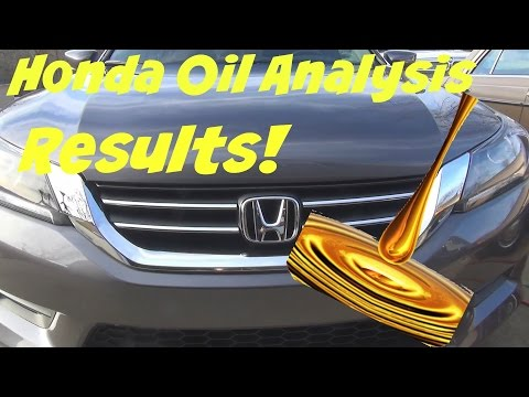 Sharing the results of both oil analysis from the 2nd Honda Accord oil change