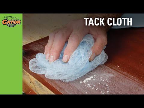 Finishing Made Easy - Tack Cloth