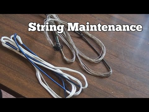 Archery | String Maintenance