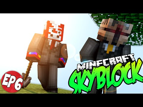 Minecraft Skyblock Survival Server EP6 - BLOODY MELONS!