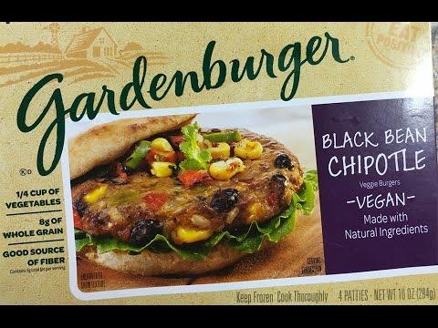 Gardenburger Black Bean Chipotle Veggie Burger Review