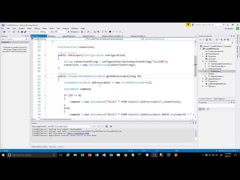 Azure ASP.Net Core 2.0 REST Service Part 4 - GET with parameters and routing