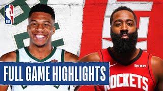 BUCKS at ROCKETS | FULL GAME HIGHLIGHTS | August 2, 2020