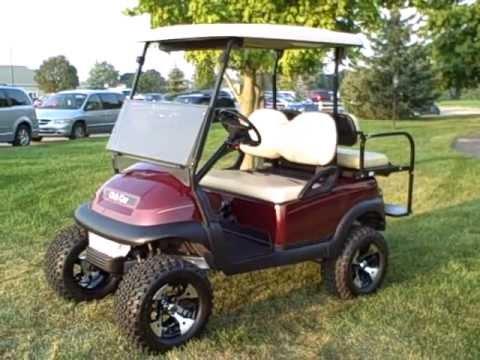 2005 Club Car Precedent GAS Golf Cart - Many upgrades