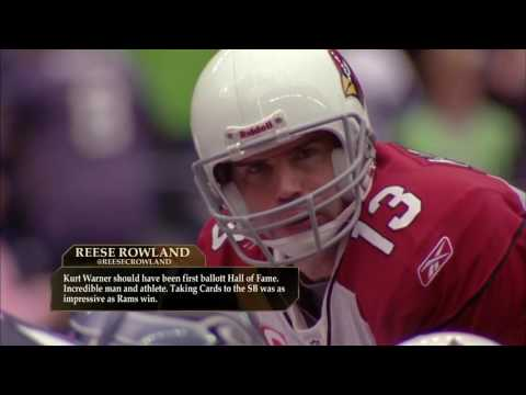 Kurt Warner's Odds of Getting into the Hall of Fame | NFL Network