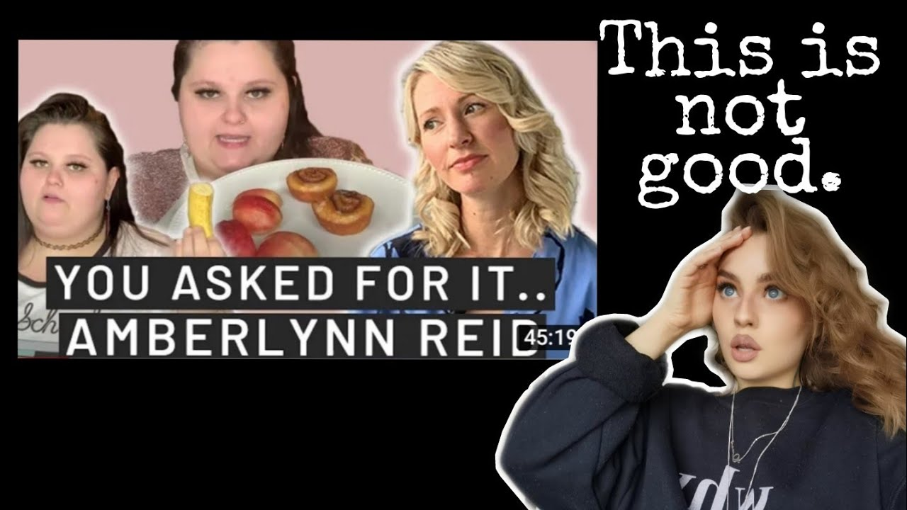 Psychology Student reacts to Amberlynn lying to Dietician Abbey Sharp. Why context matters. PART 1