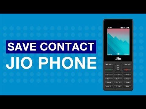 JioCare - How to Save Contact on JioPhone (Gujarati) | Reliance Jio