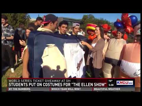 Students put on costumes for