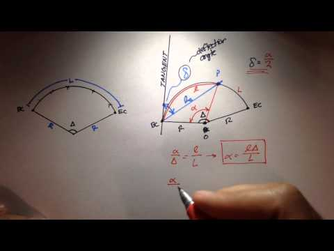 Advanced Geomatics: Introduction To Deflection Angles & Staking