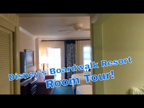 Disney's Boardwalk Resort room tour - Standard room, Standard view