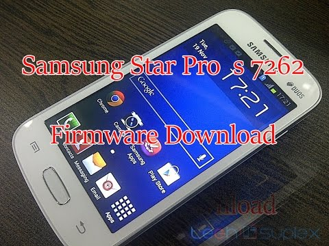 How To Download Samsung Star Pro s7262 Firmware For Free