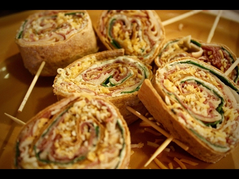How I make AMAZING Pin-wheel roll-up tortilla sandwiches for on-the-go meals!