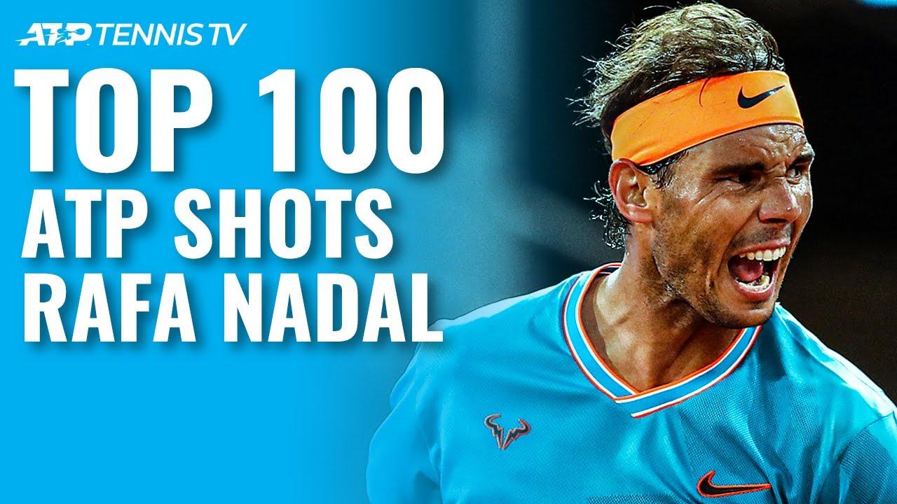Rafael Nadal: Top 100 ATP Shots!