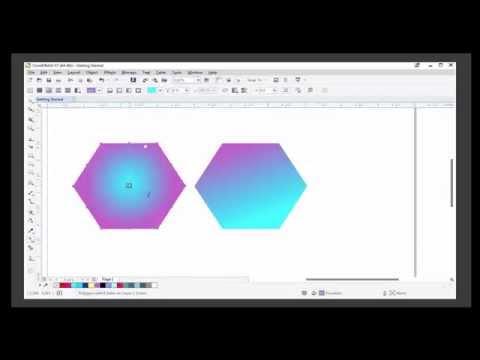 CorelDraw X7 Lesson - Color and Attribute Tools