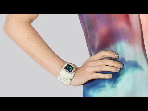 Make a Pretty Jeweled Fabric Cuff - DIY Style - Guidecentral