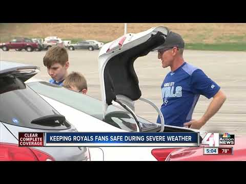Keeping Royals fans safe during severe weather