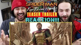 Download SPIDER-MAN: FAR FROM HOME | Teaser TRAILER - REACTION!!! Video