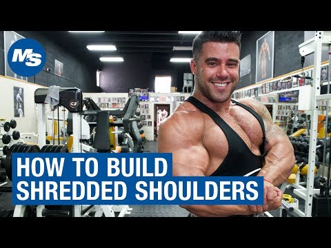 Aesthetic Training Tips | How to Build Shredded Shoulders