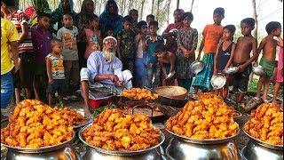 Onion & Flour Transform into Best Bengali Snacks For Whole Village People - Onion Pakura