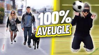 Vivre 100% aveugle pendant une journée - 24h challenge   DENYZEE