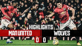 Stalemate at Old Trafford | Manchester United 0-0 Wolves | Highlights