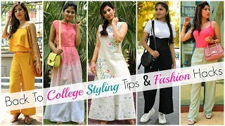 Back To College STYLING HACKS & OUTFIT IDEAS For Teenagers | #Fashion #Lookbook #Anaysa