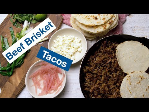 Beef Brisket Tacos Recipe || Le Gourmet TV Recipes