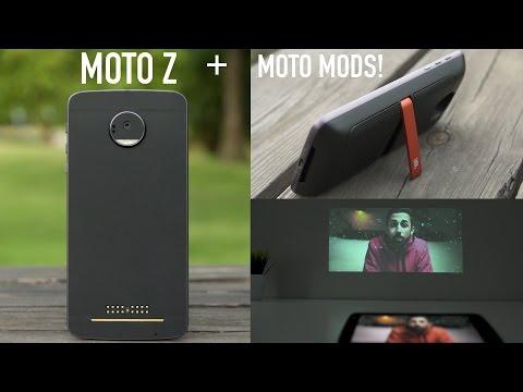 Moto Z vs Moto Z Force Review! (With Moto Mods)
