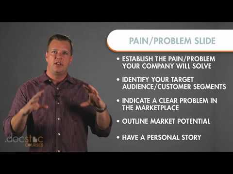 Pain/Problem (Opportunity Slide) - Creating The Killer Business Plan