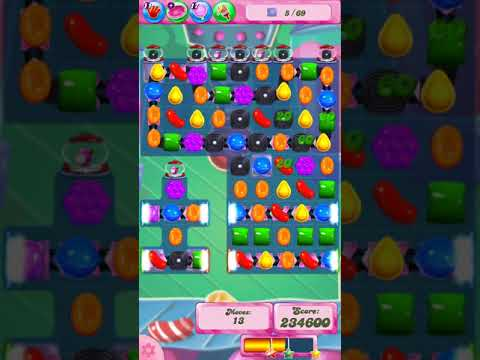 Candy Crush Saga Level 765 (2 Star, No Boosters)