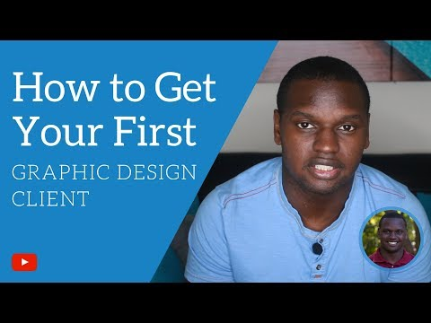 How to Get Your First Graphic Design Client Fast