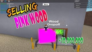 How To Get Any Wood For Free Pink Wood Lumber Tycoon 2 Roblox