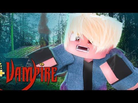 Minecraft - VIDA DE VAMPIRO - O DIA QUE VIREI UM VAMPIRO !