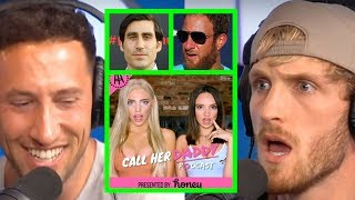 LOGAN PAUL REACTS TO CALL HER DADDY DRAMA