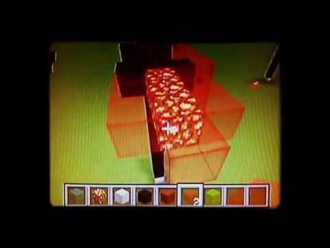 How to make Kylo Ren's lightsaber - Minecraft XBOX 360