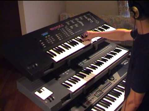 Me playing Depeche Mode