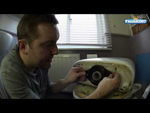 How to Update your Old Lever Flush Toilet to a Push Button Flush.