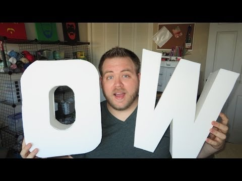 How to make 3D Letters