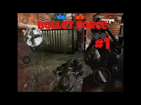 The First Blood... | Bullet Force Gameplay #1