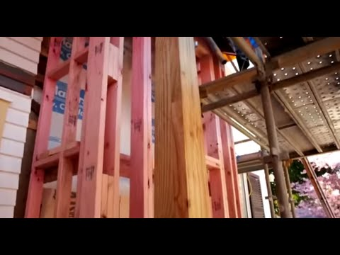 Installing Timber Laminated Posts to Concrete