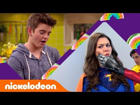Firsts & Lasts w/ Kira Kosarin & Jack Griffo 🐇 | The Thundermans | Nick