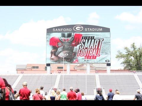 Joshua Gary @ Kirby Smart's 2017 Youth Football Camp