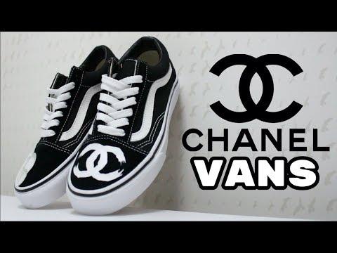 Custom Chanel Vans